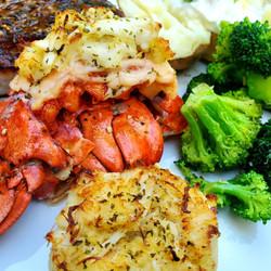 Lobster Seafood Plate