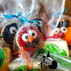 Custom Cookies Sesame Street