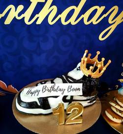 Jordan One inspired Cake