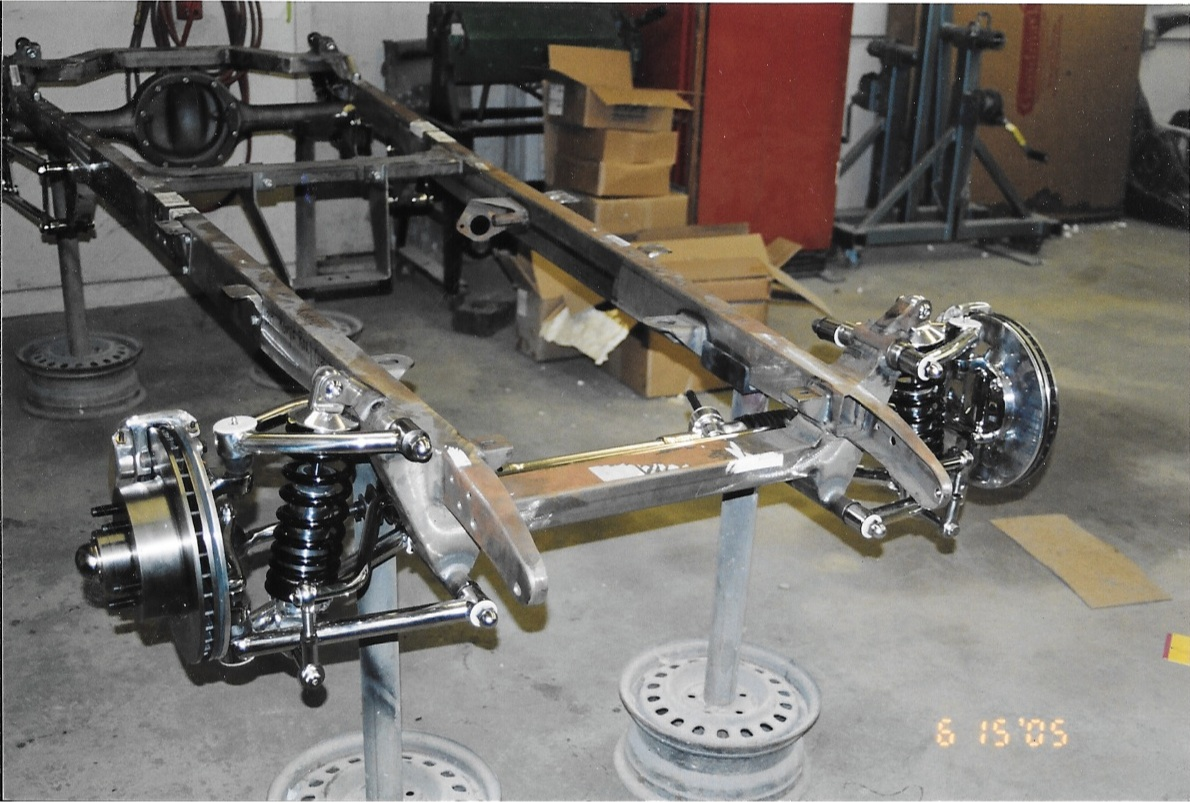 1930 Model A Chassis