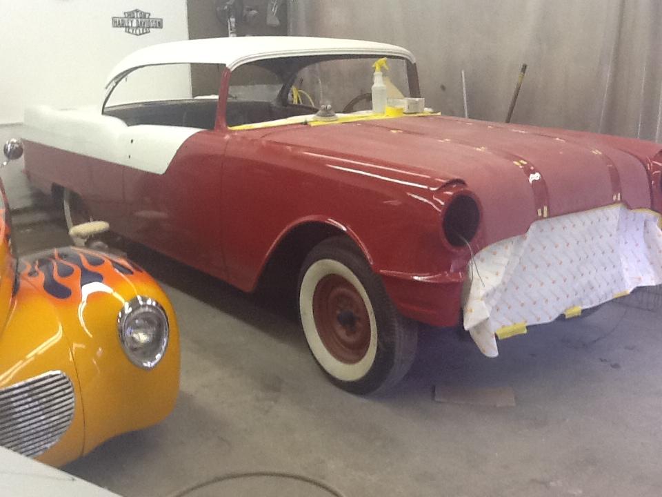 1955 Pontiac Restoration