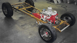 1929 Model A chassis