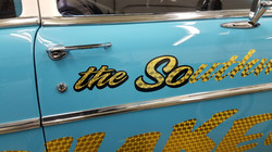 57 Chevy Race Car