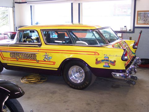 carpetbagger race car