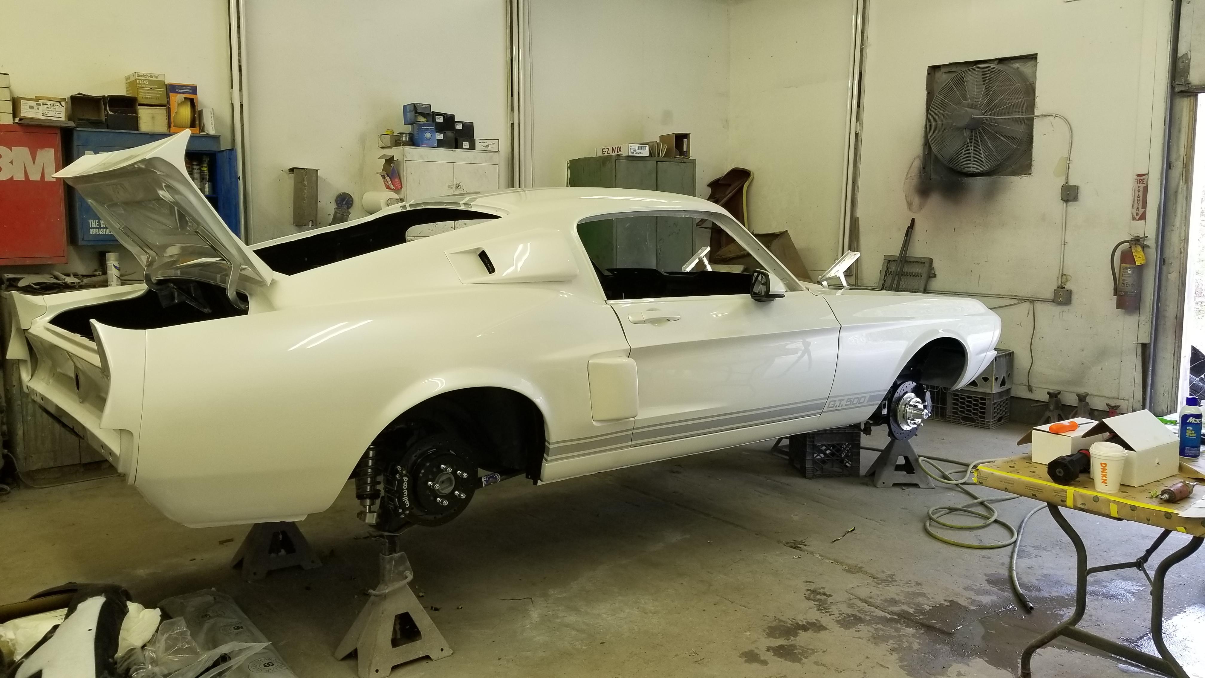 1967 Mustang GT500 Restoration