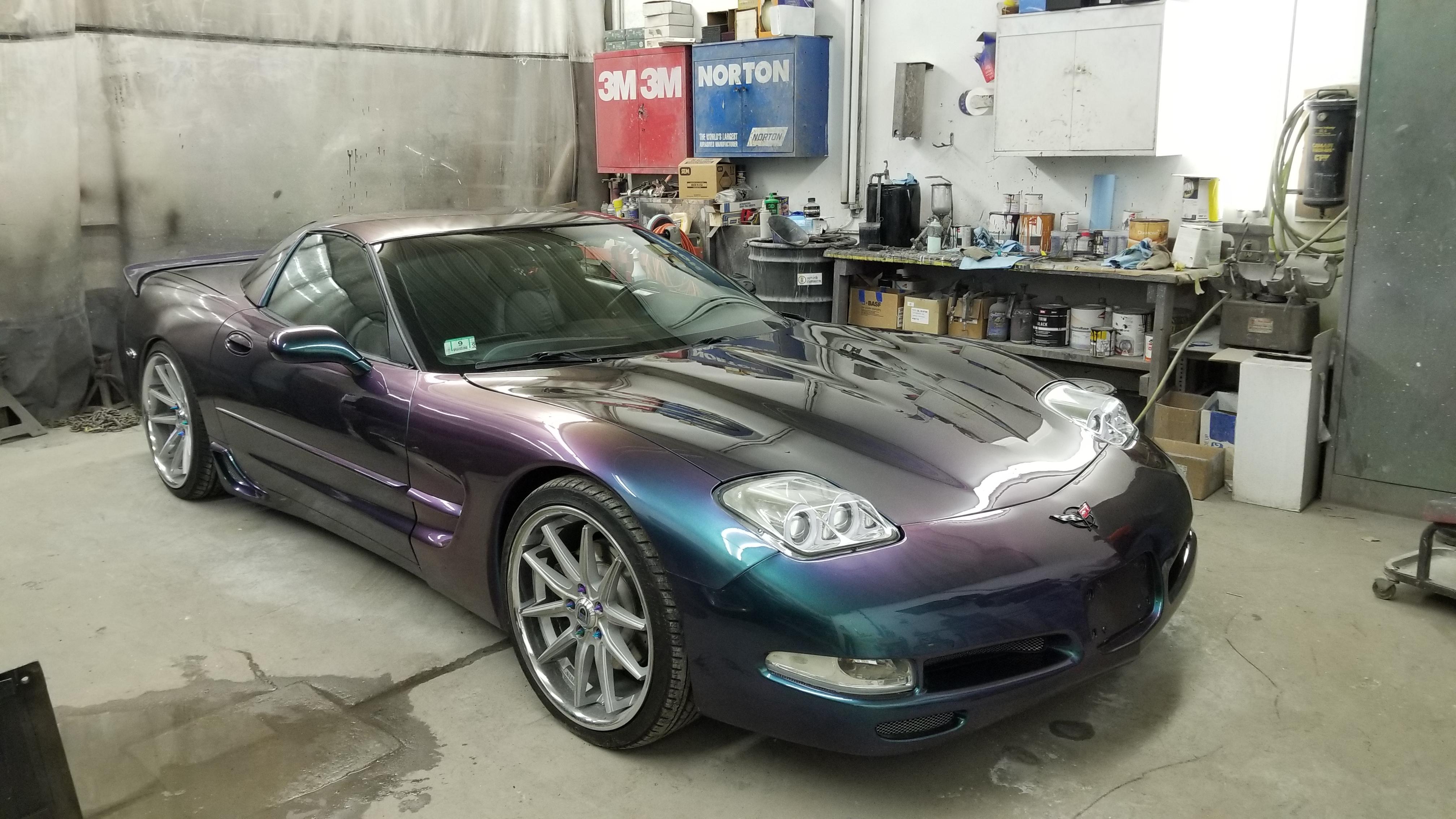 2000 Vette Body Repair