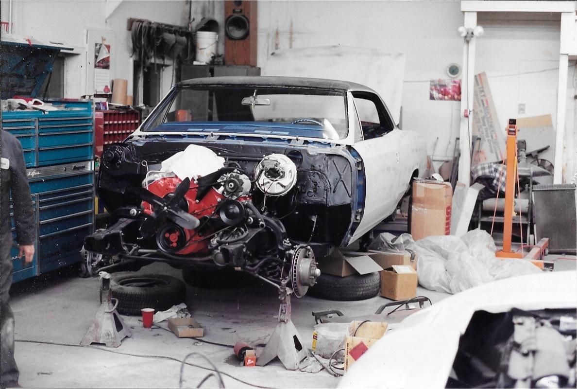 67 Chevelle SS Restoration