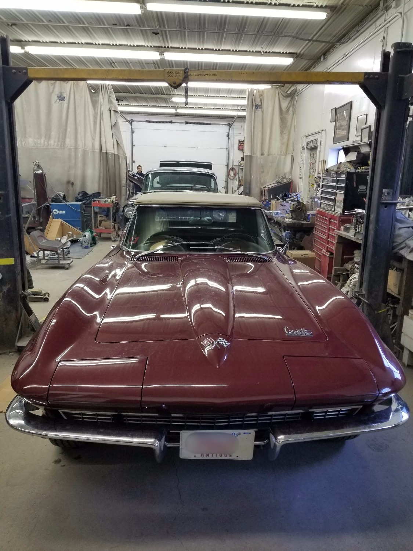 66 Chevy Corvette
