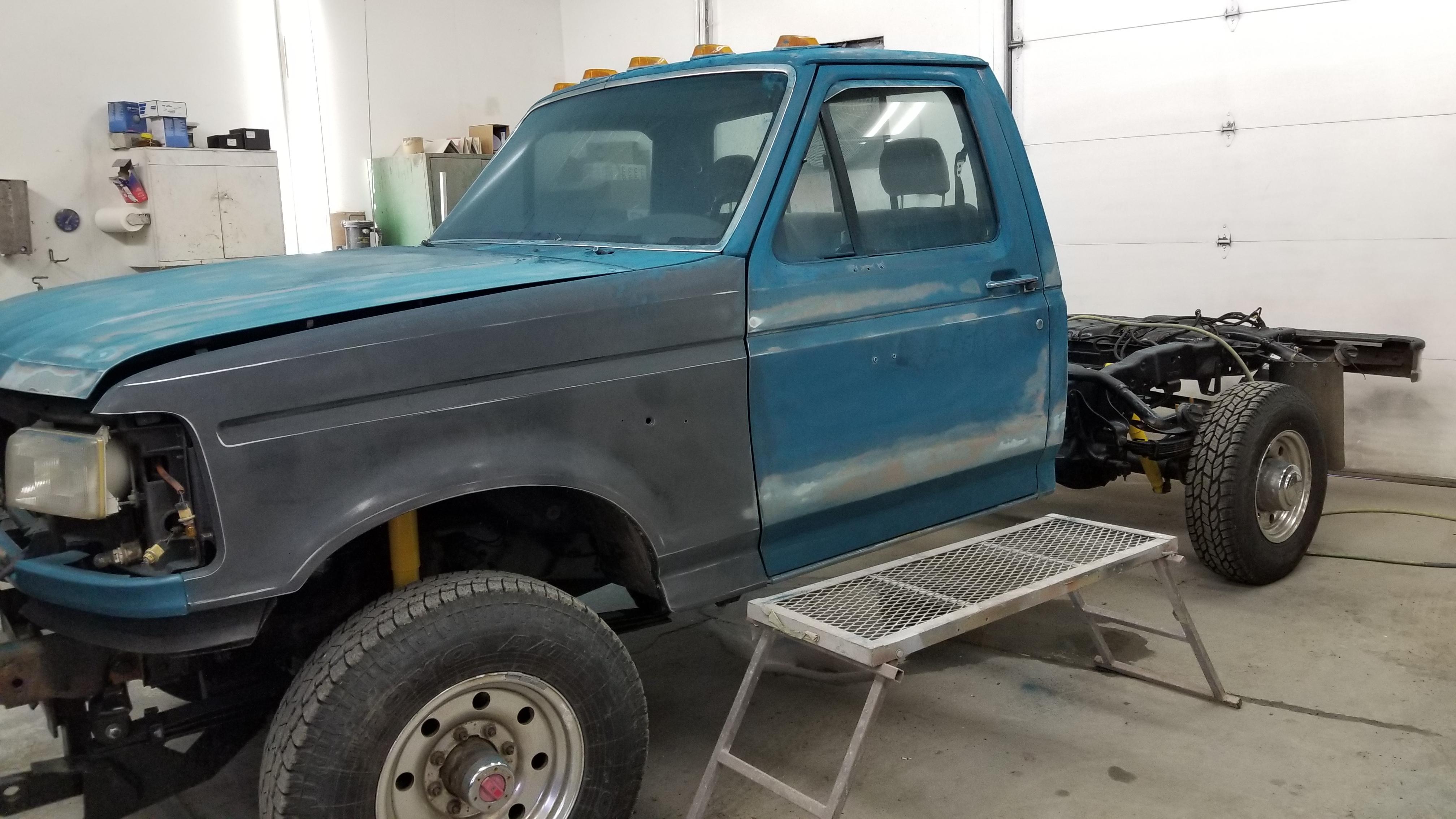Work Truck Restoration