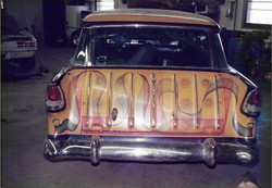 55 Chevy Nomad Race Car