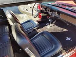 66 Mustang Interior