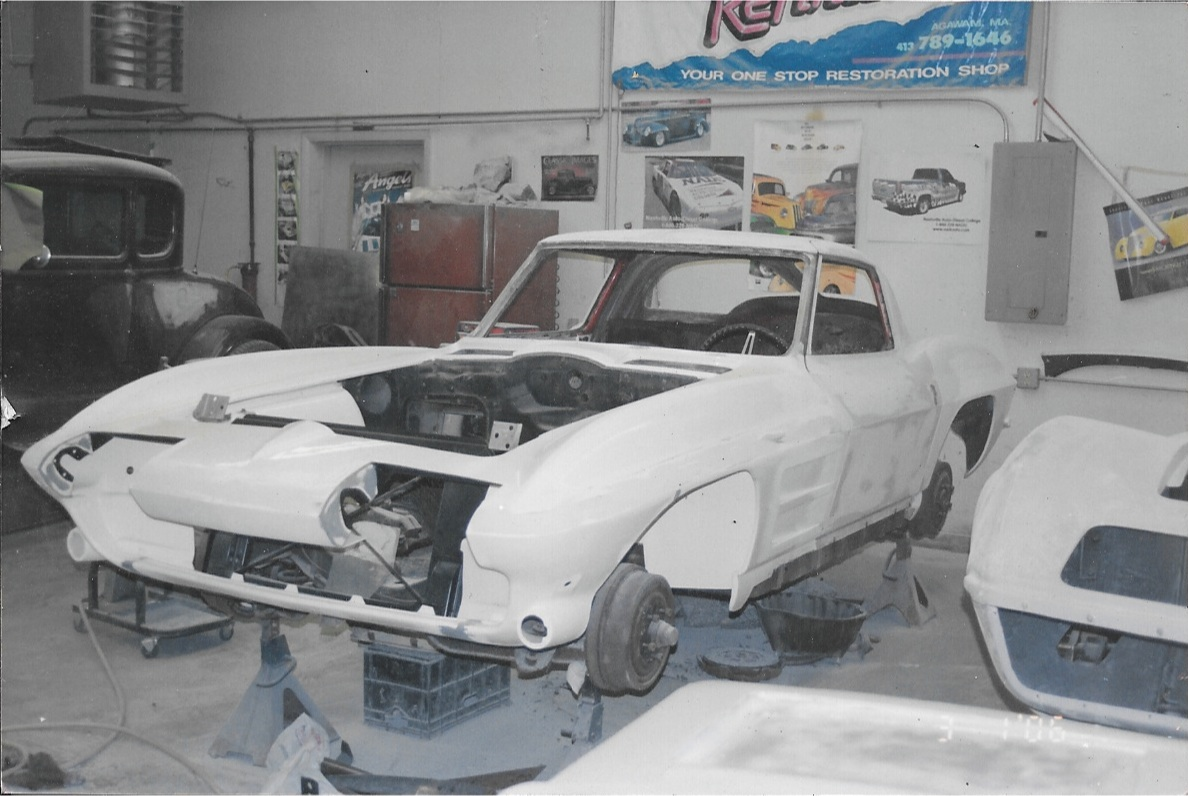 1963 Corvette Restoration