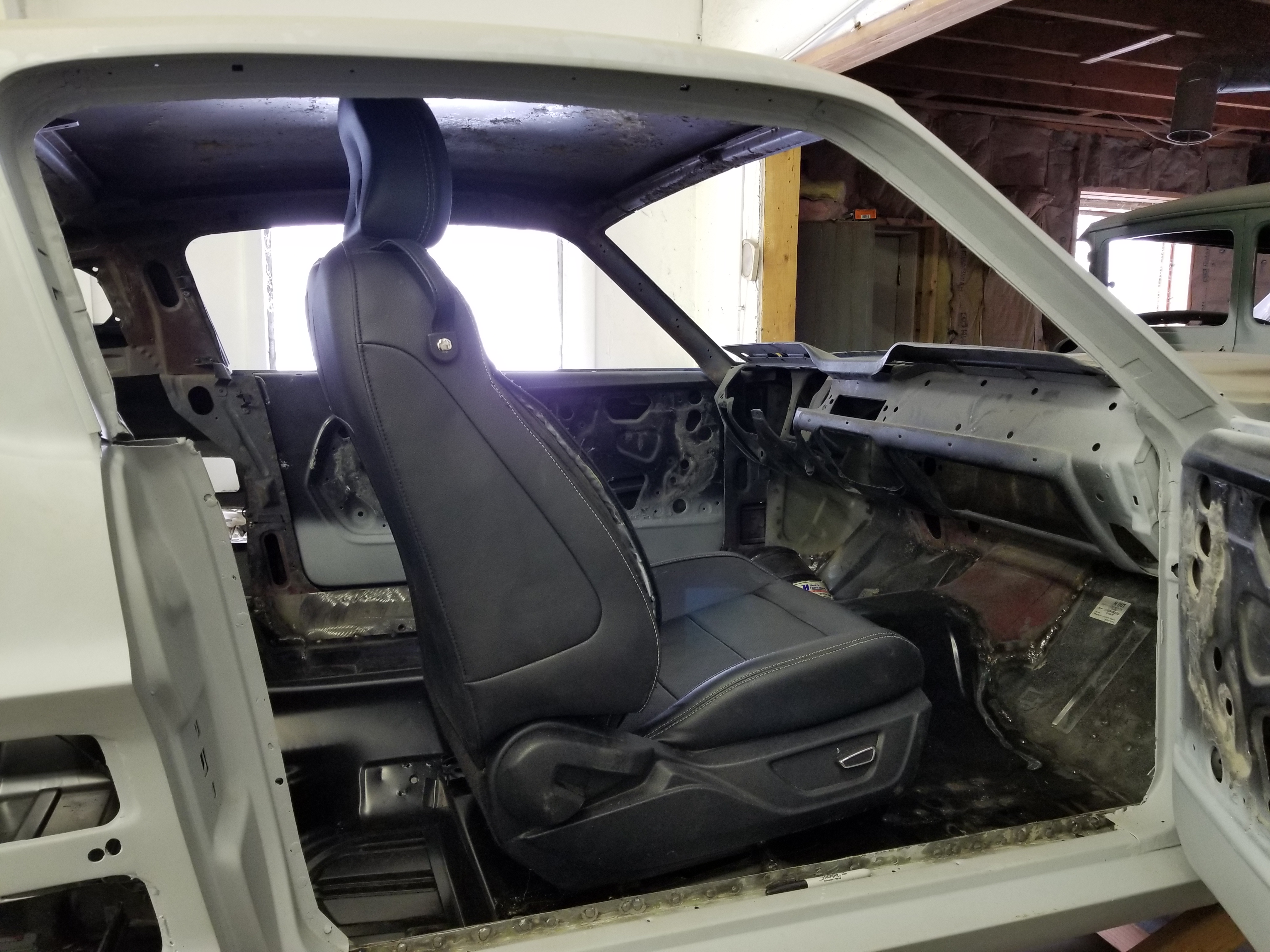 2015 Mustang Power Seats