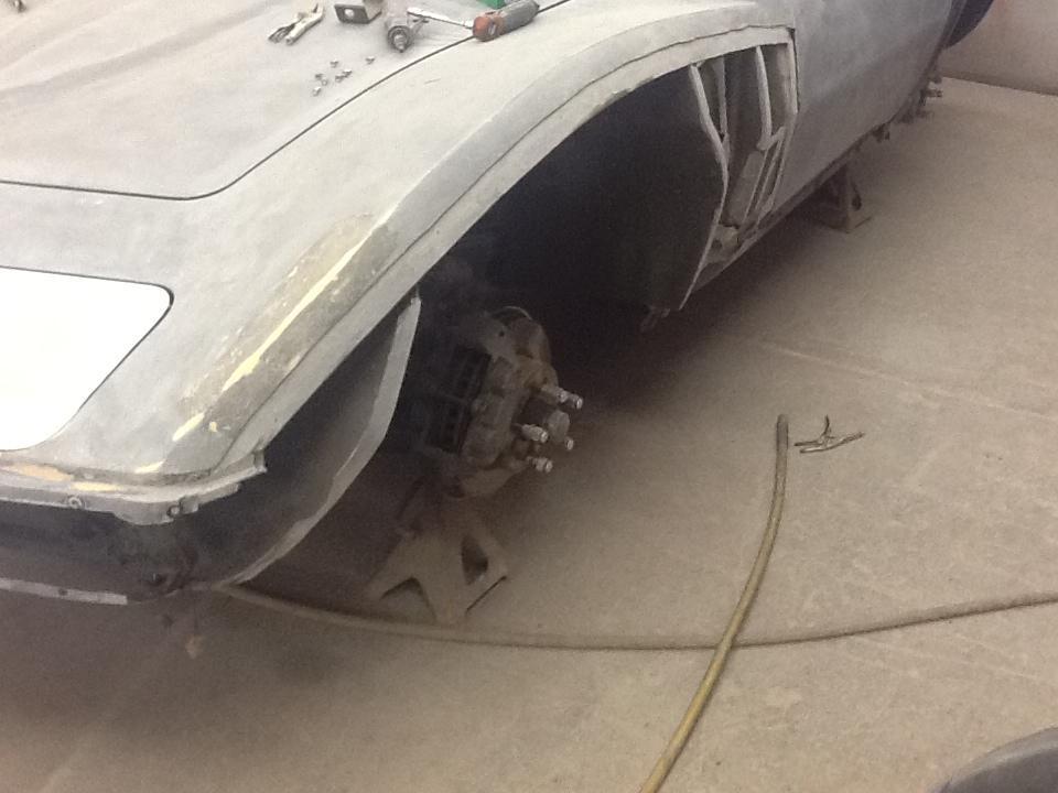 69 Corvette Restoration