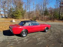 Rick Foy's Garage 66 Mustang