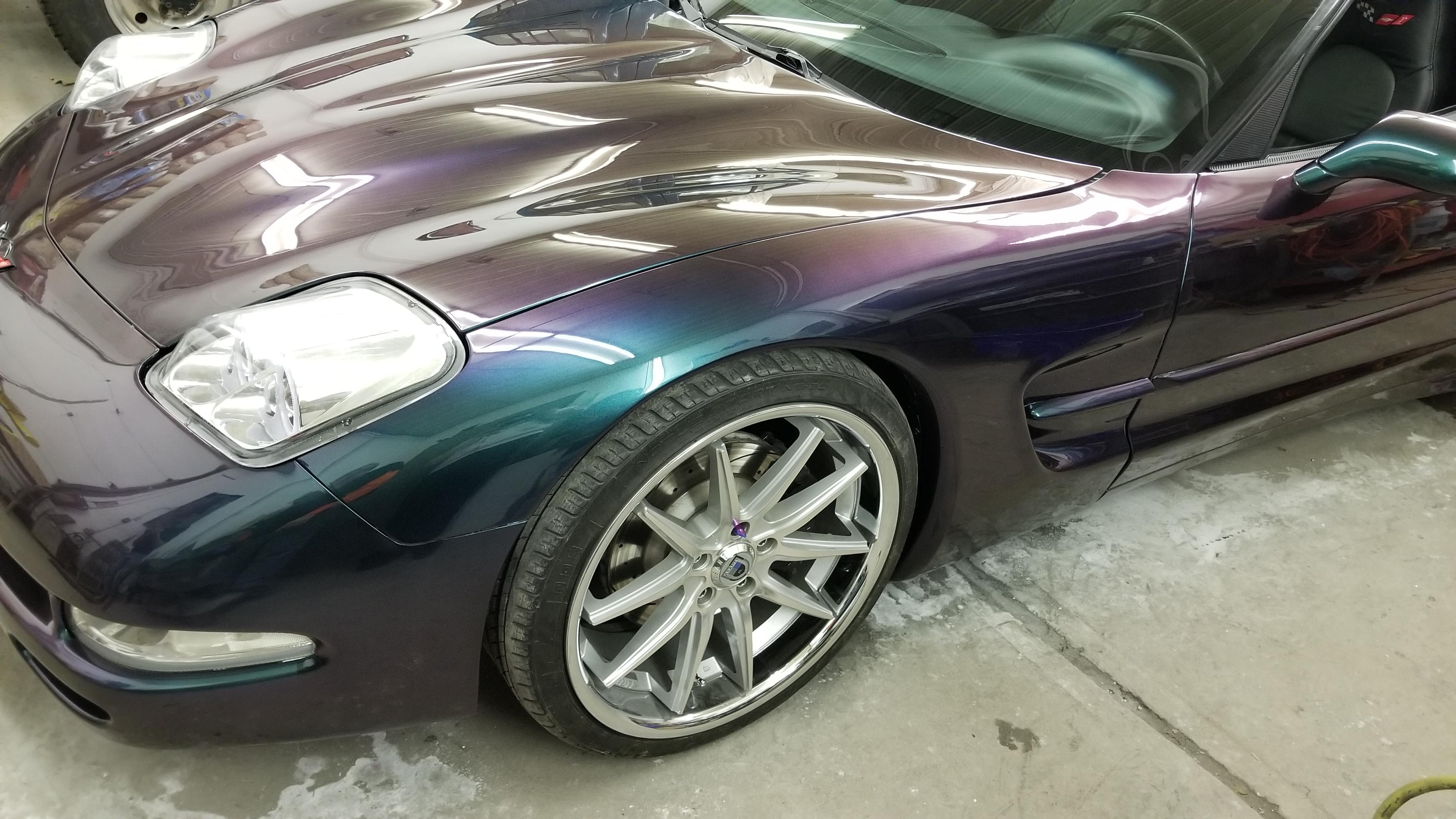 2000 Corvette Repair