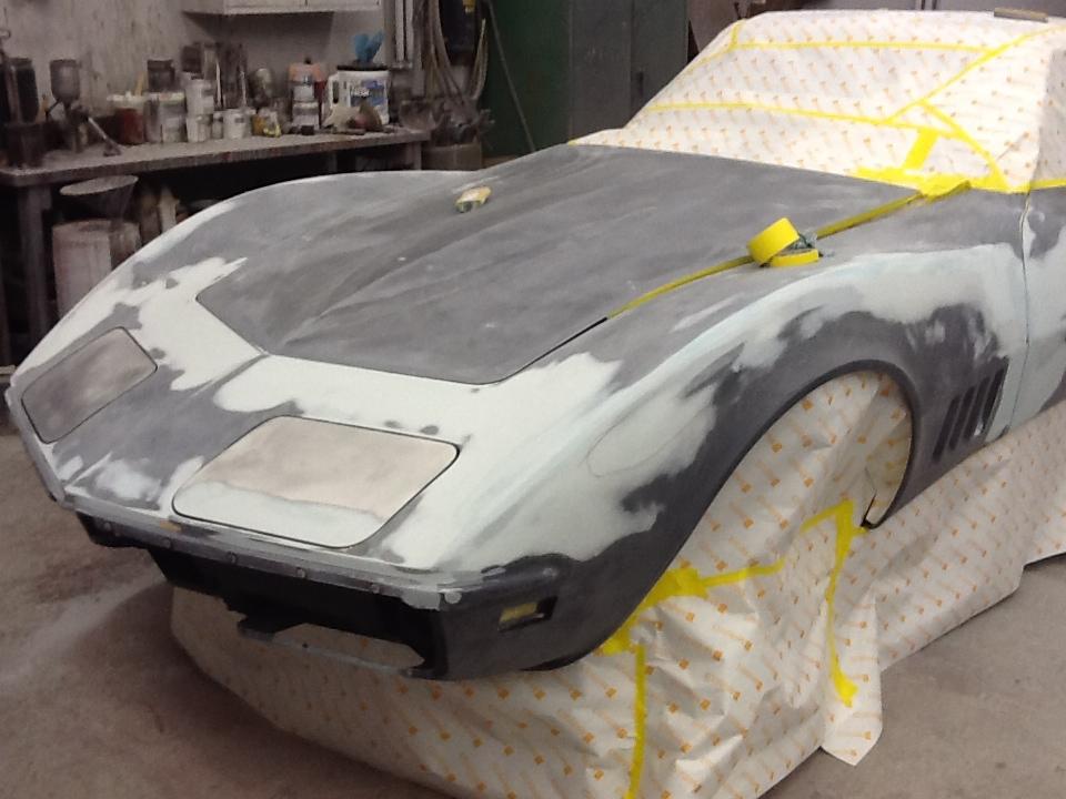 1969 Corvette Rick Foy's Garage