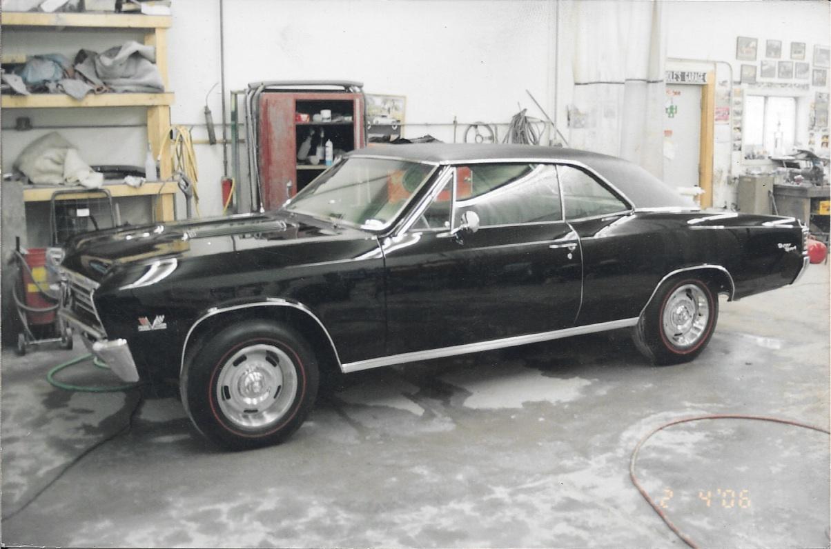 67 Chevelle full Restoration