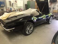 Black 73 Corvette