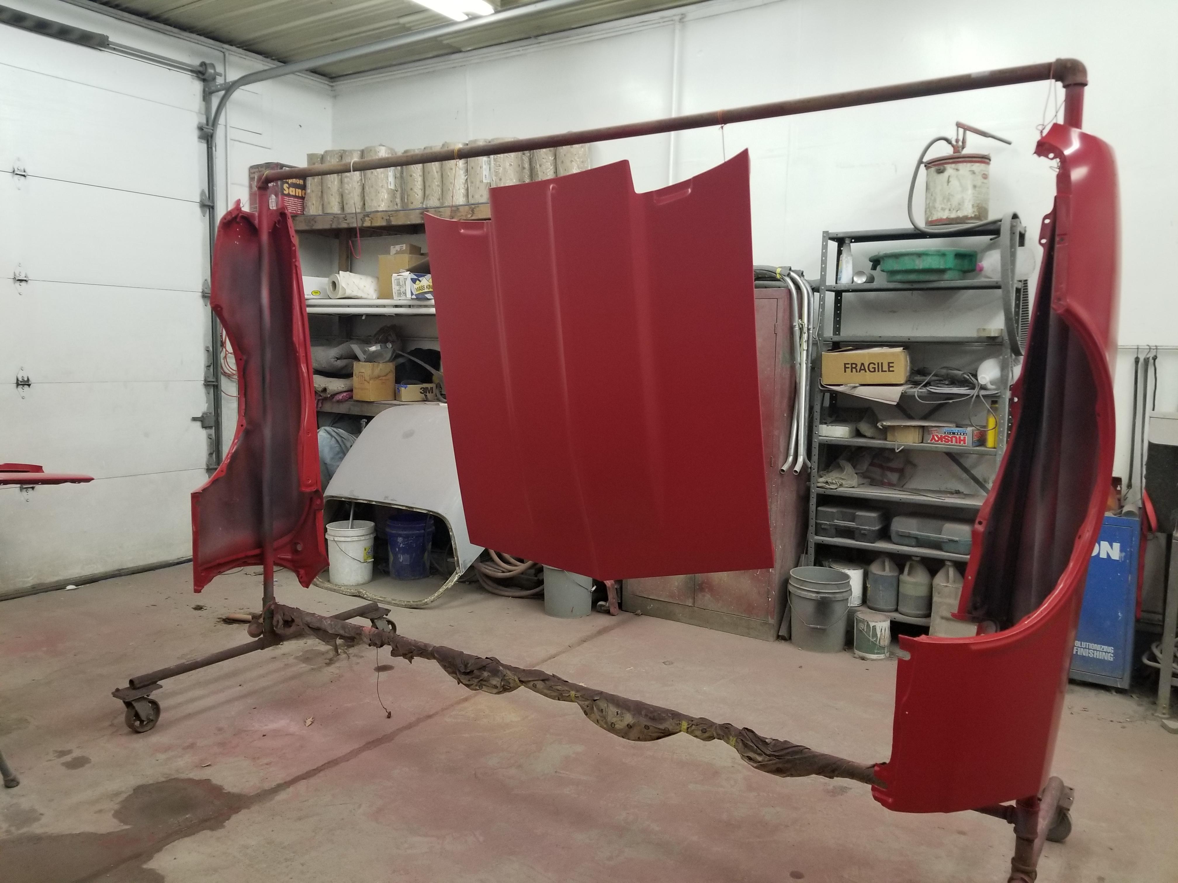67 Camaro Restoration