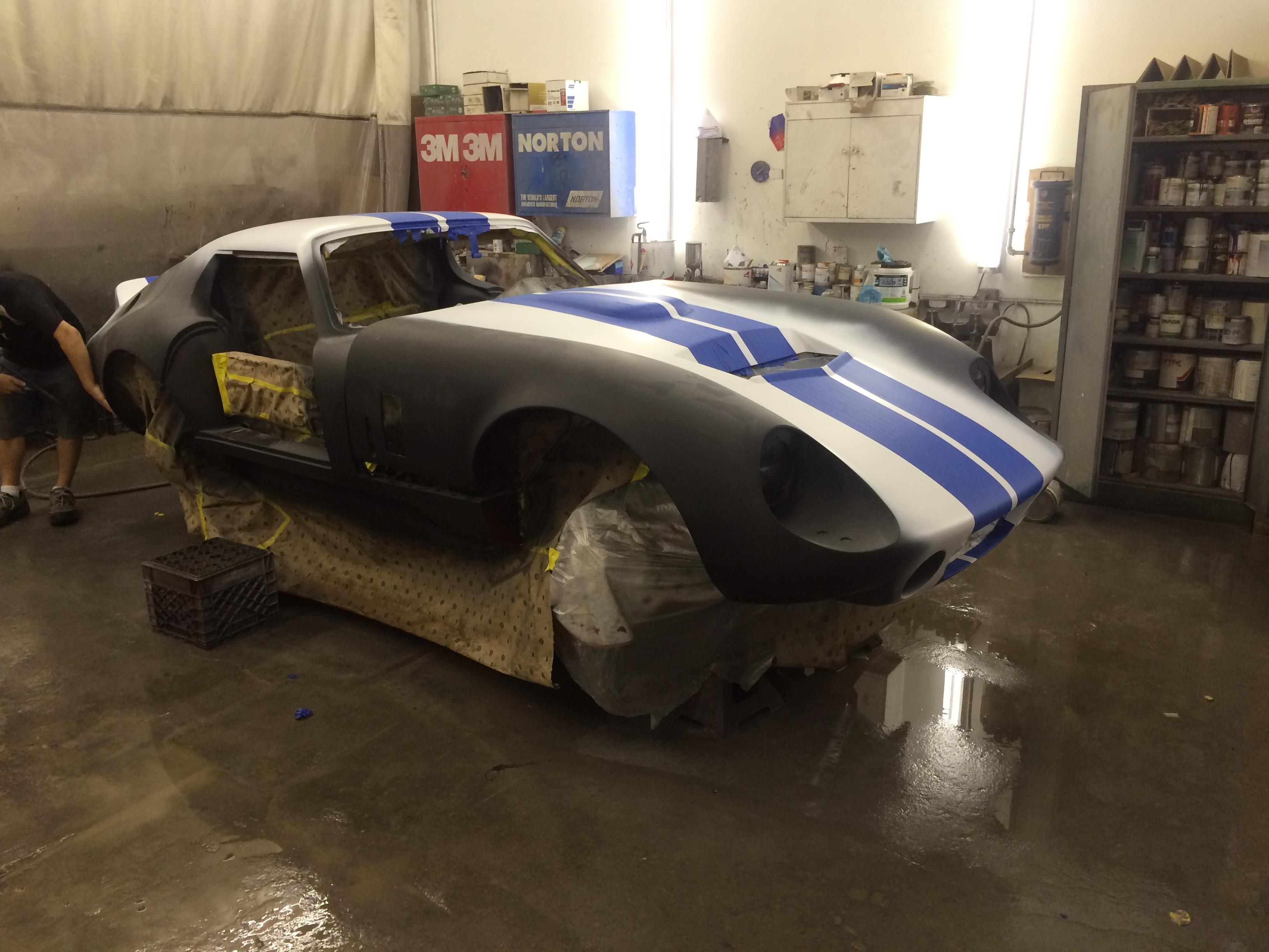 Factory Five Shelby Daytona Replica