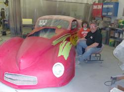 Mohegan Sun Race Car