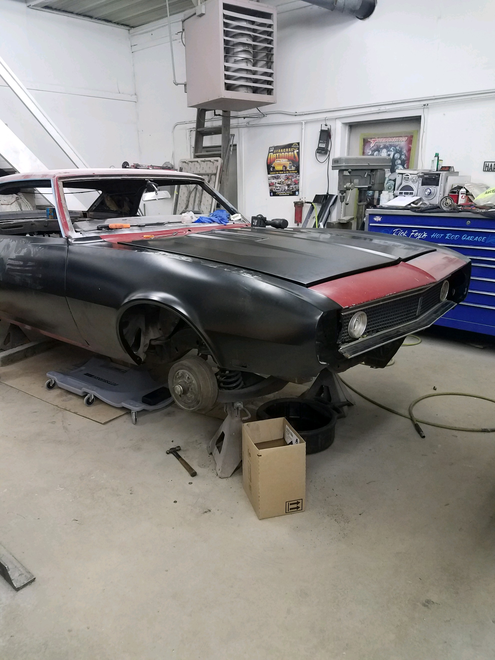 68 Camaro RS Restoration