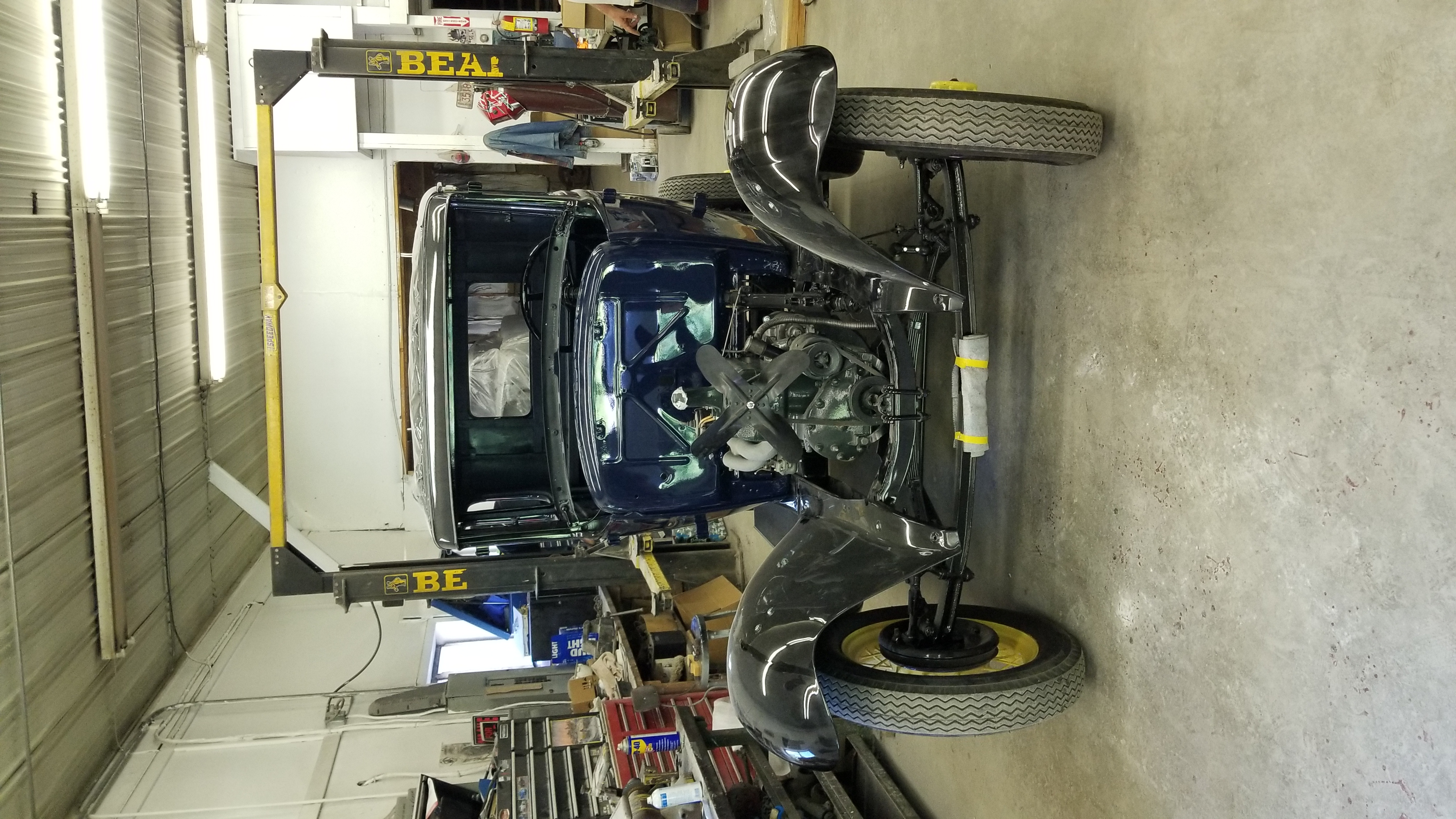 Antique Car Restoration