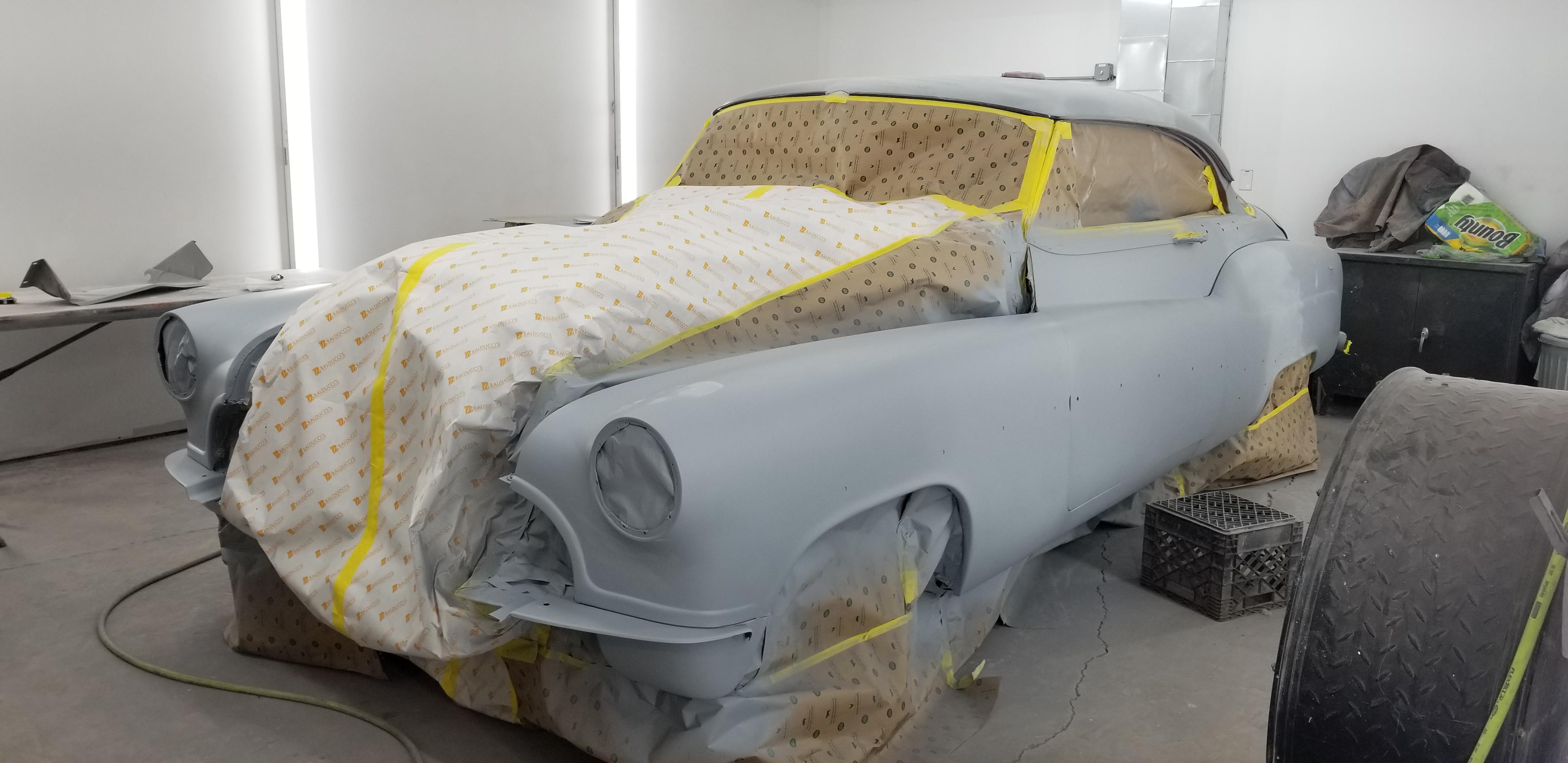 1950 Buick in primer