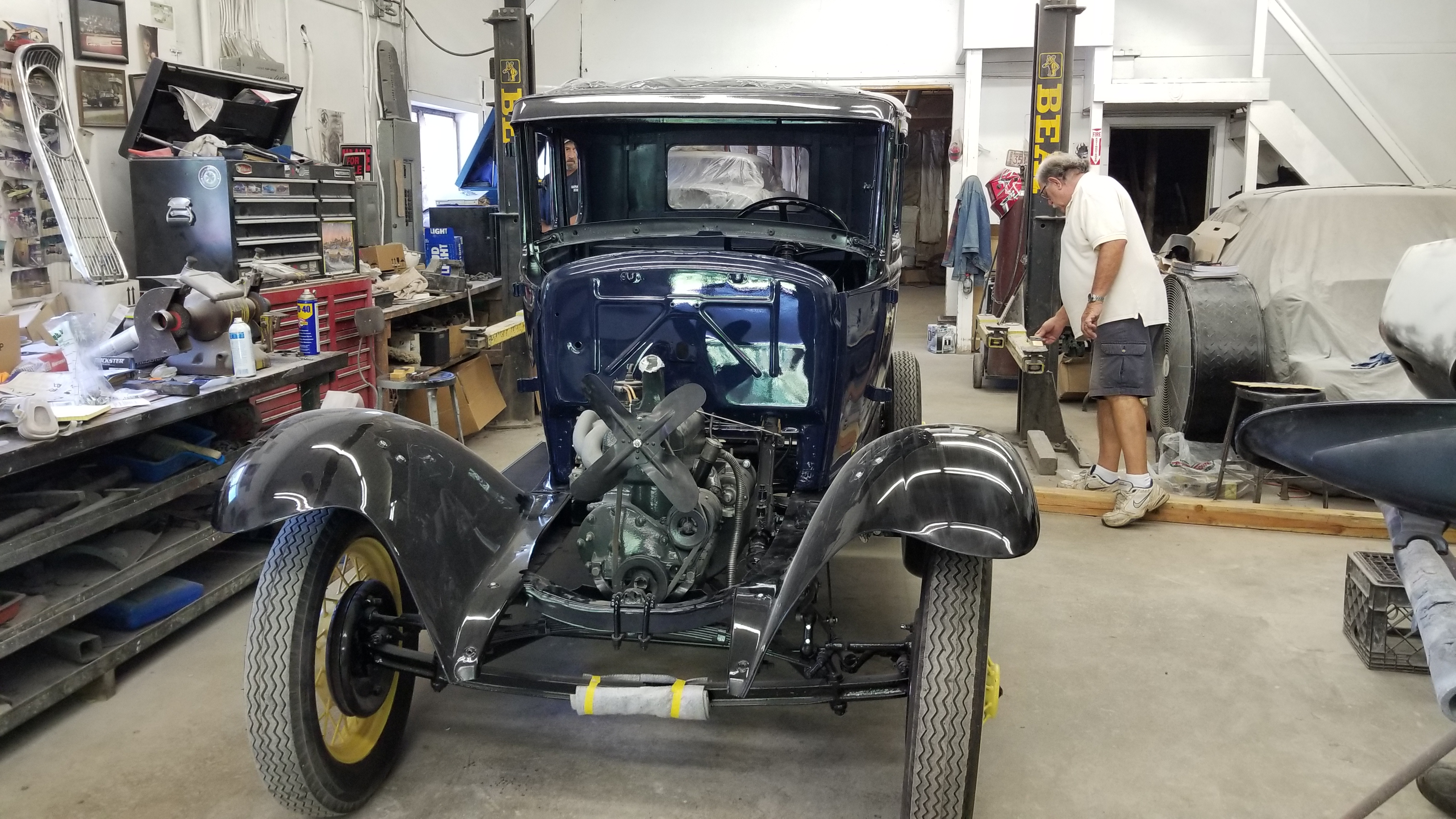 Classic Car Restorations Rick Foy