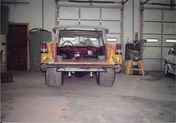 Rick Foy restores Carpetbagger car
