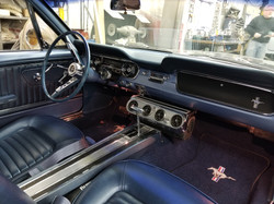 64.5 Mustang Interior