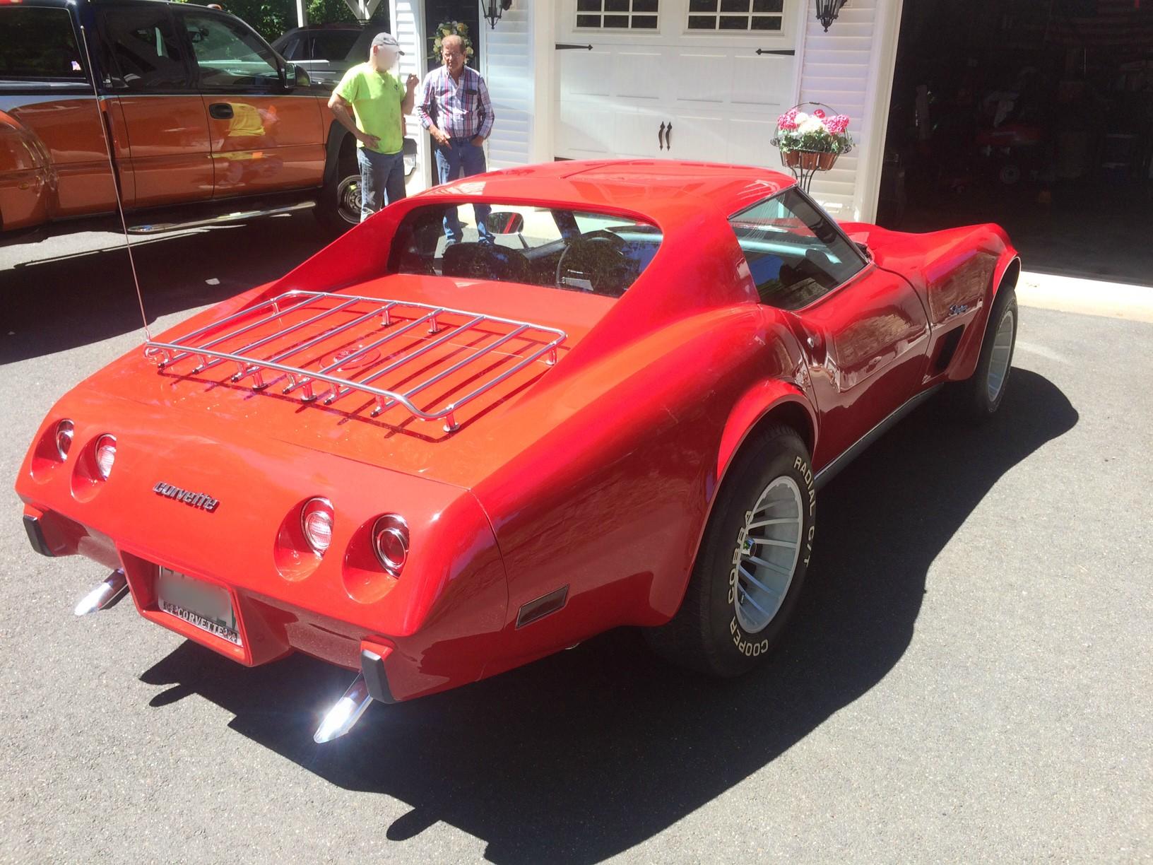 76 Corvette Rick Foy's Garage