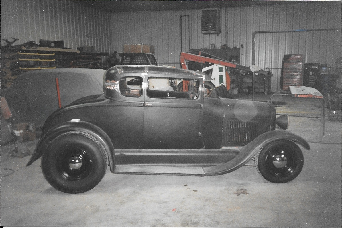 Model A Rick Foy's Garage