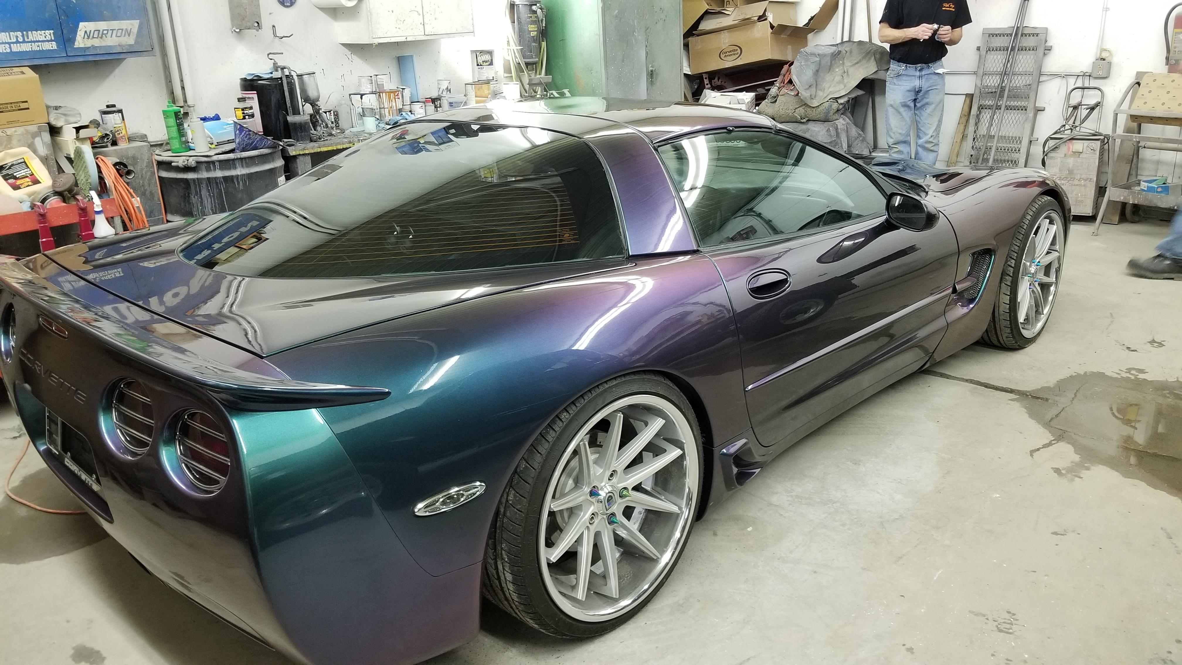 2000 Corvette Body Repair