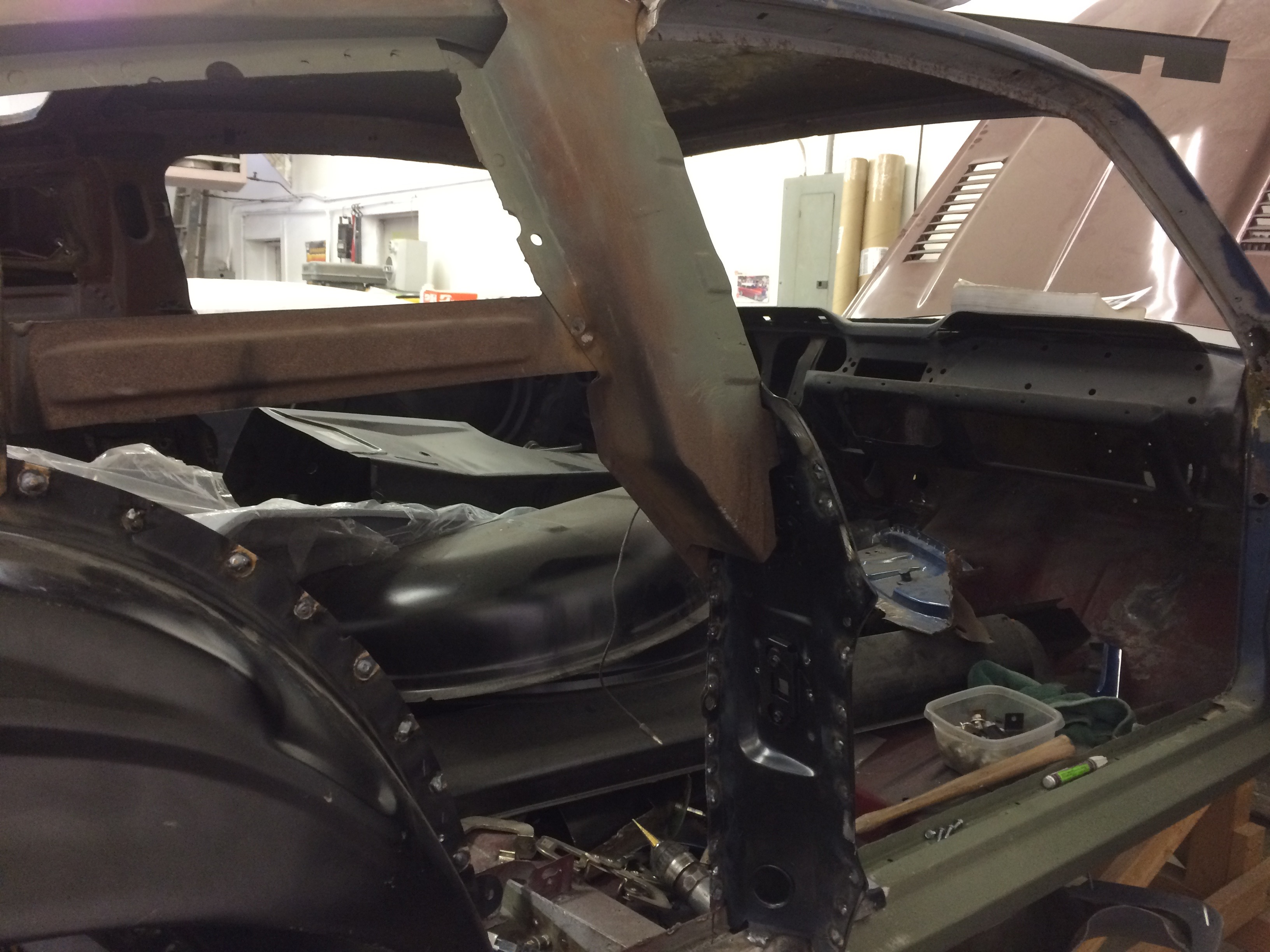 1967 Mustang Metal Fabrication