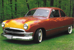 1950 Ford Flames