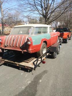 55 Chevy Nomad Restoration