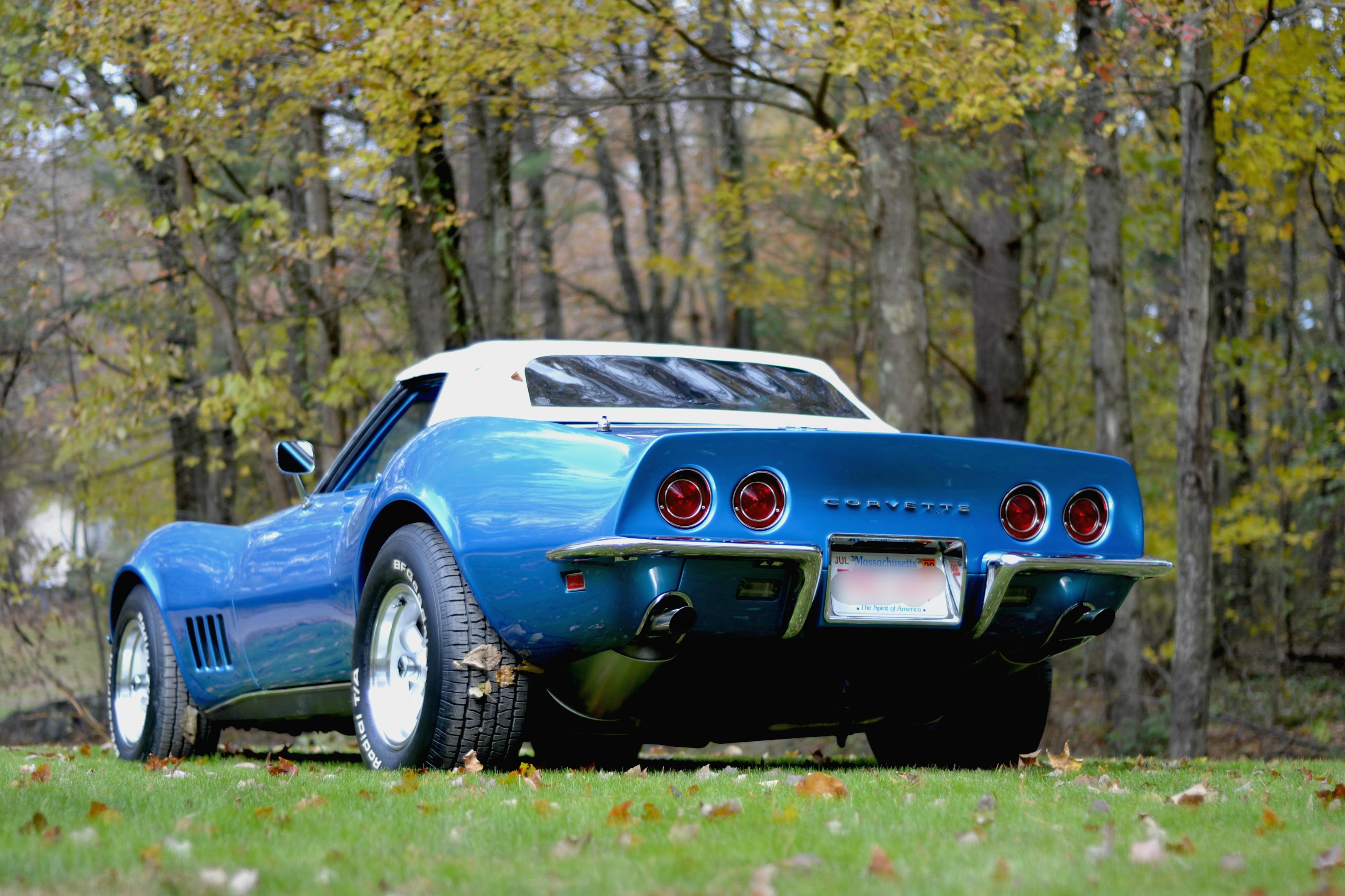 1968 Corvette Rick Foy's Garage