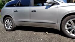 2014 Enclave damage repair