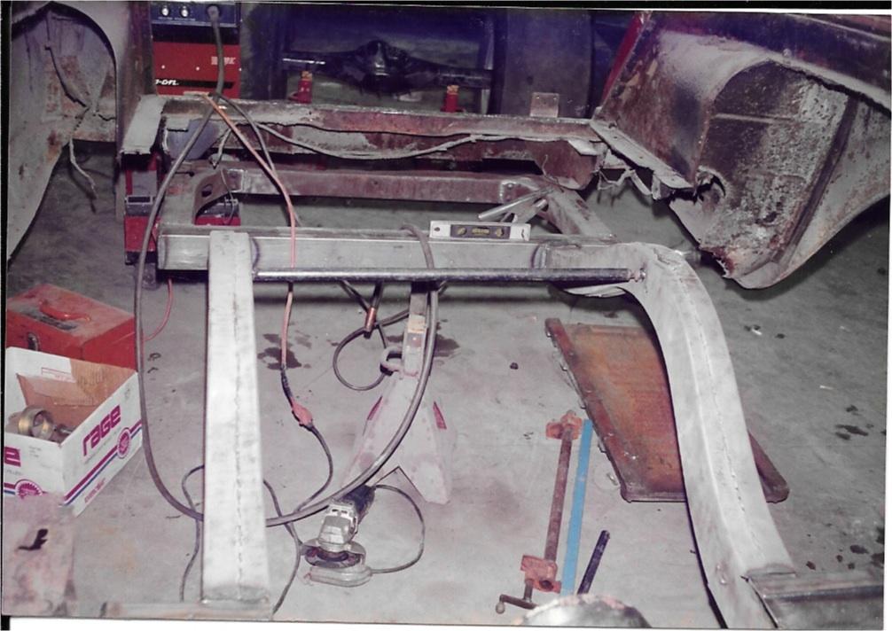 Restoring Carpetbagger Race Car
