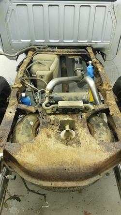 2007 Ford Ranger Frame