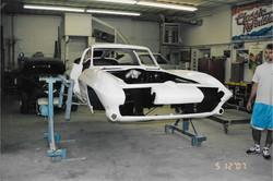 1963 White Corvette