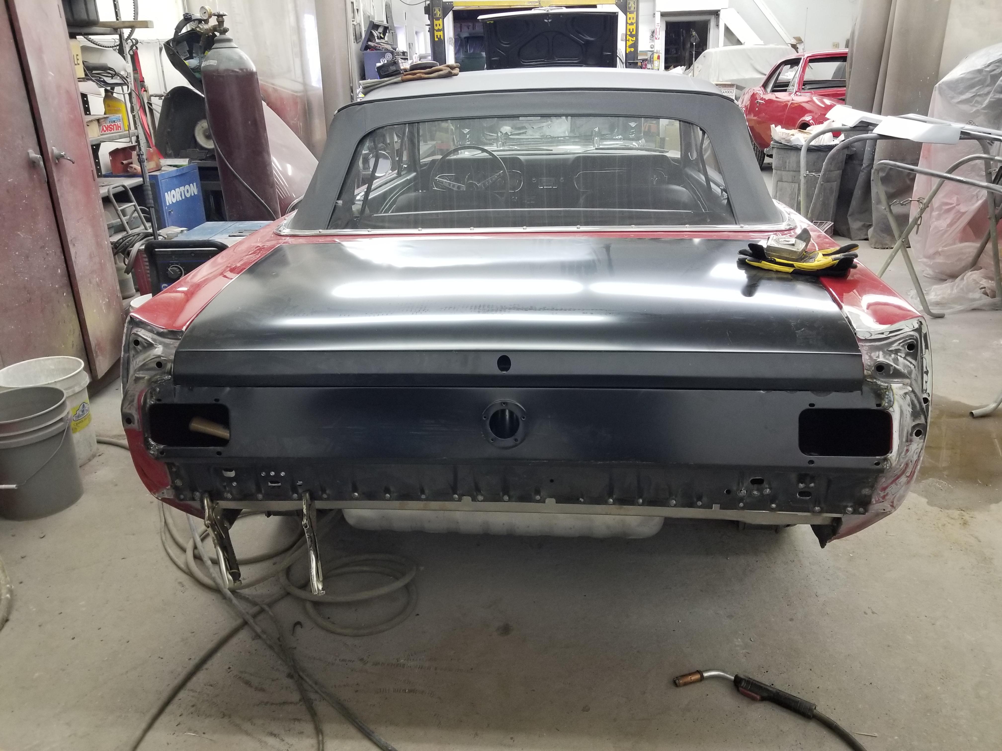 1966 Mustang Repair