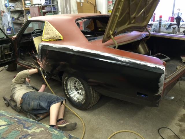 69 Roadrunner Restoration