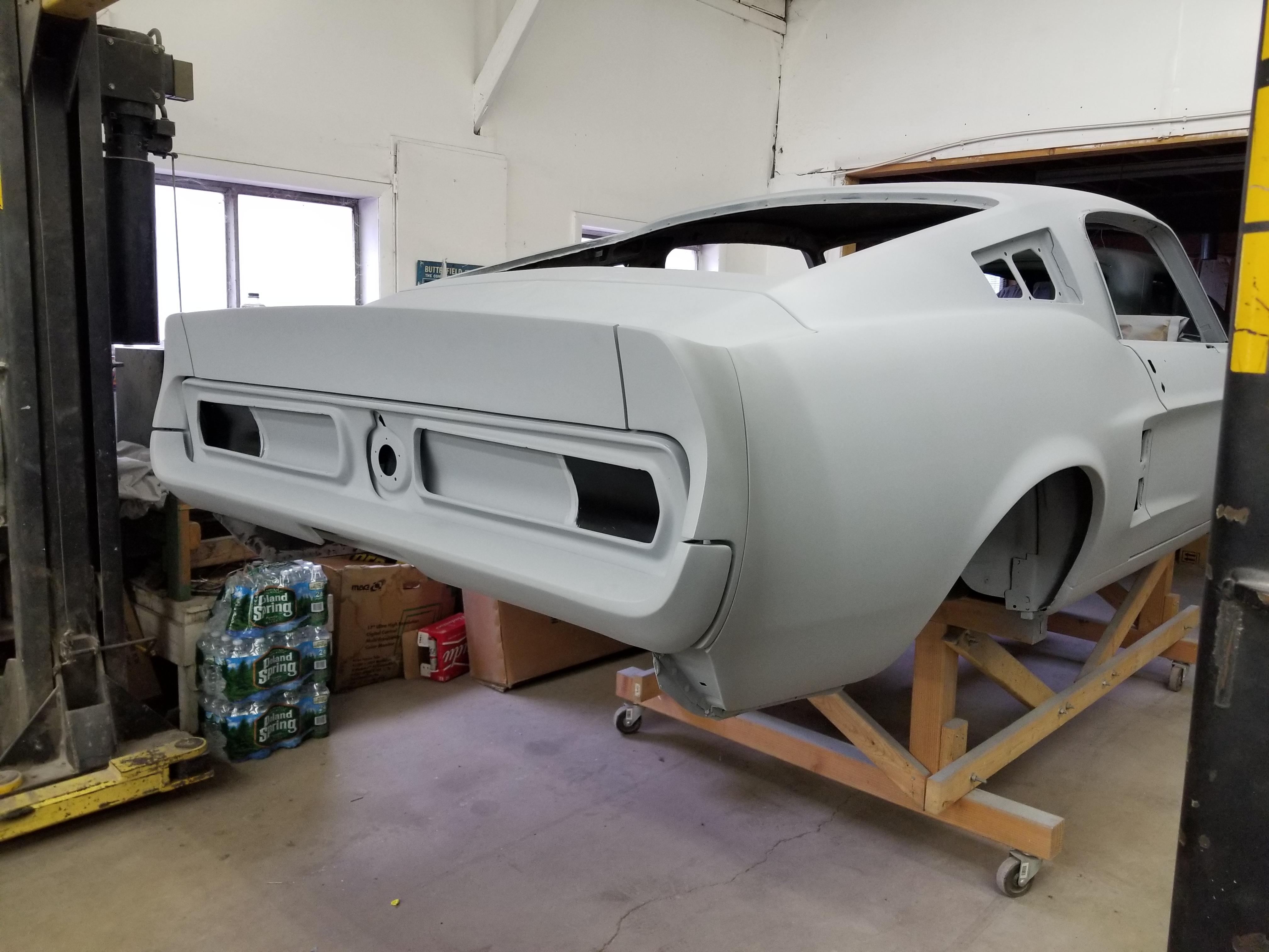 Custom 67 Shelby