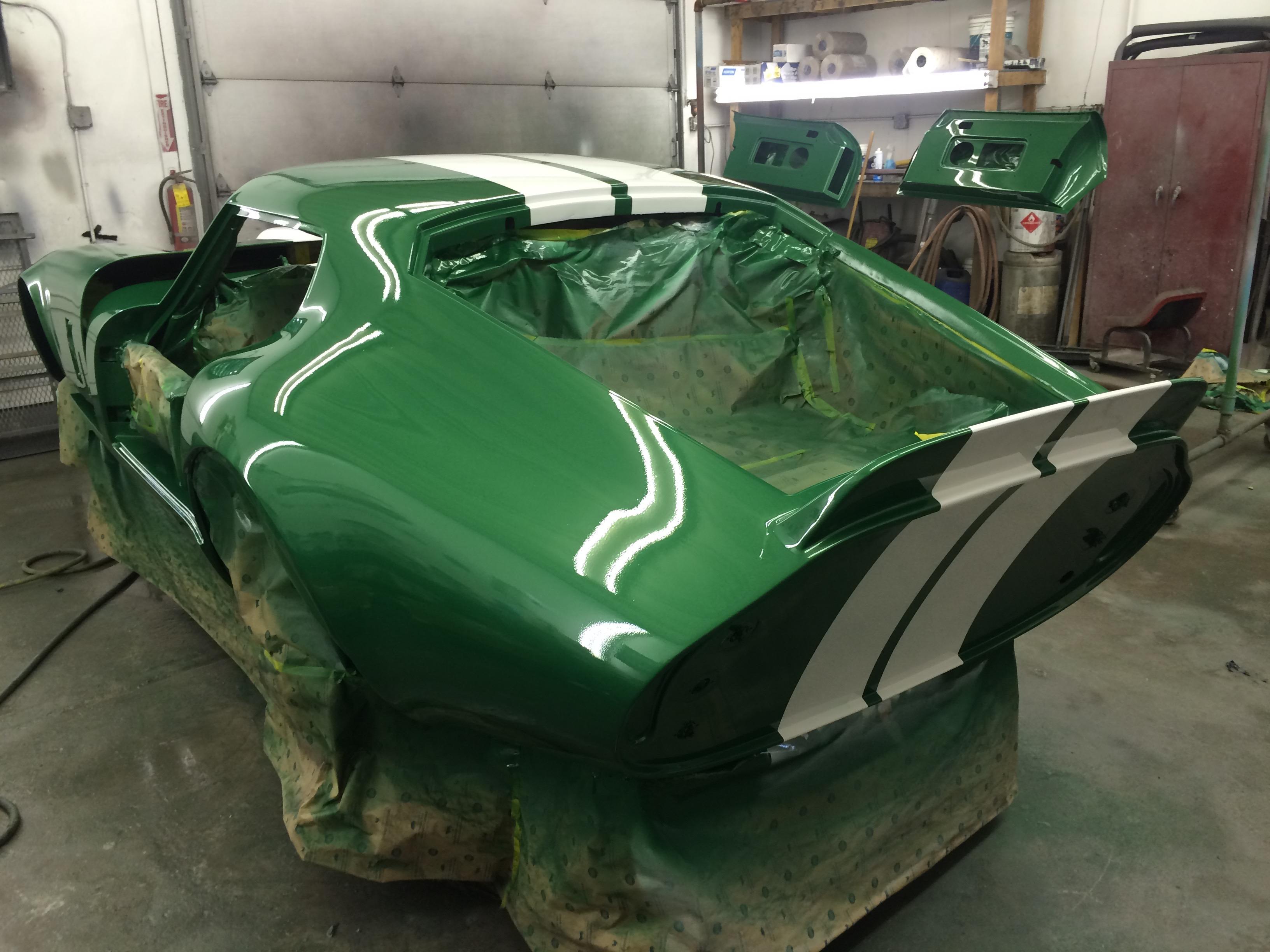 Daytona Racecar Restoration