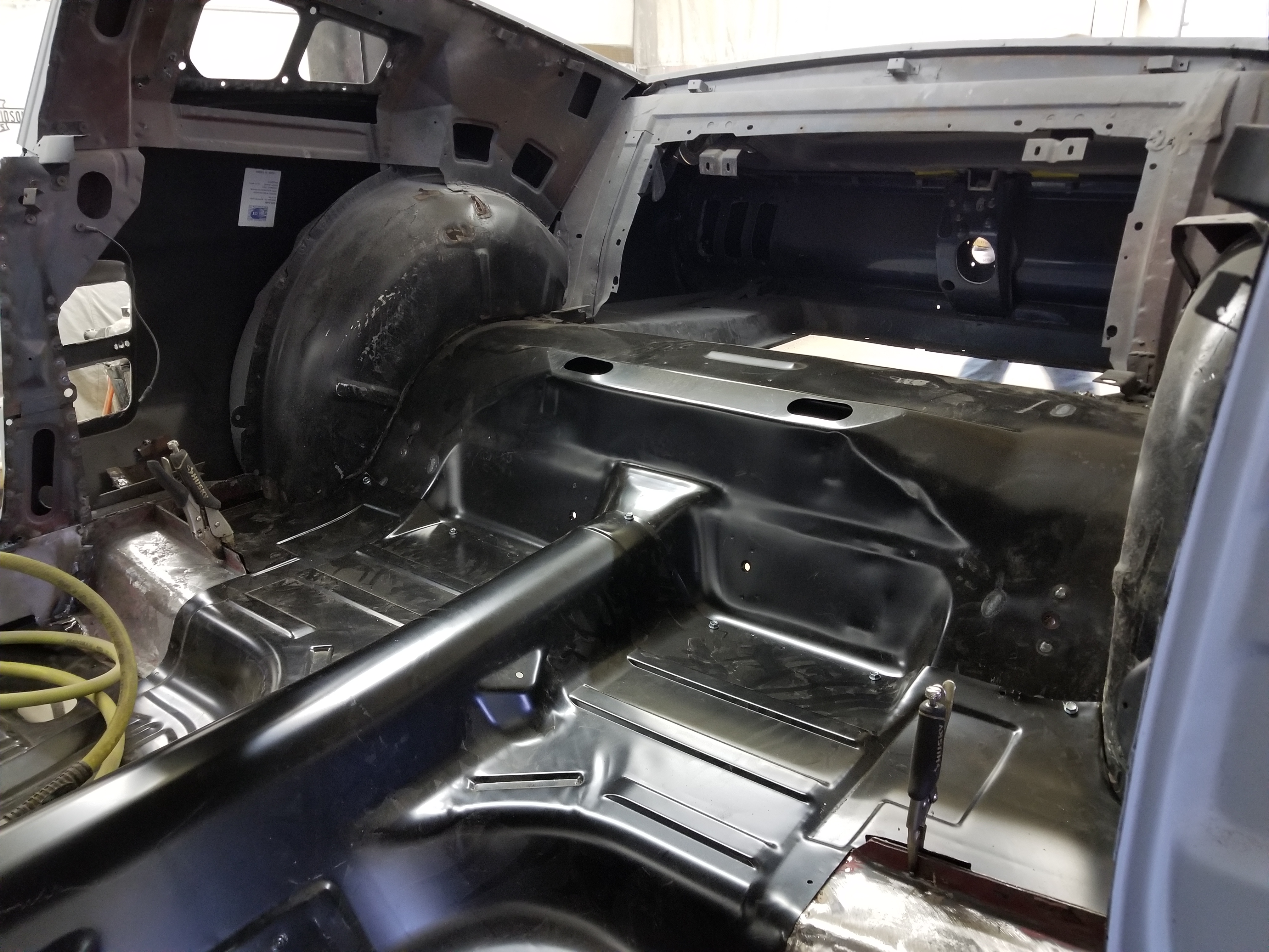 67 Mustang Floor Pan