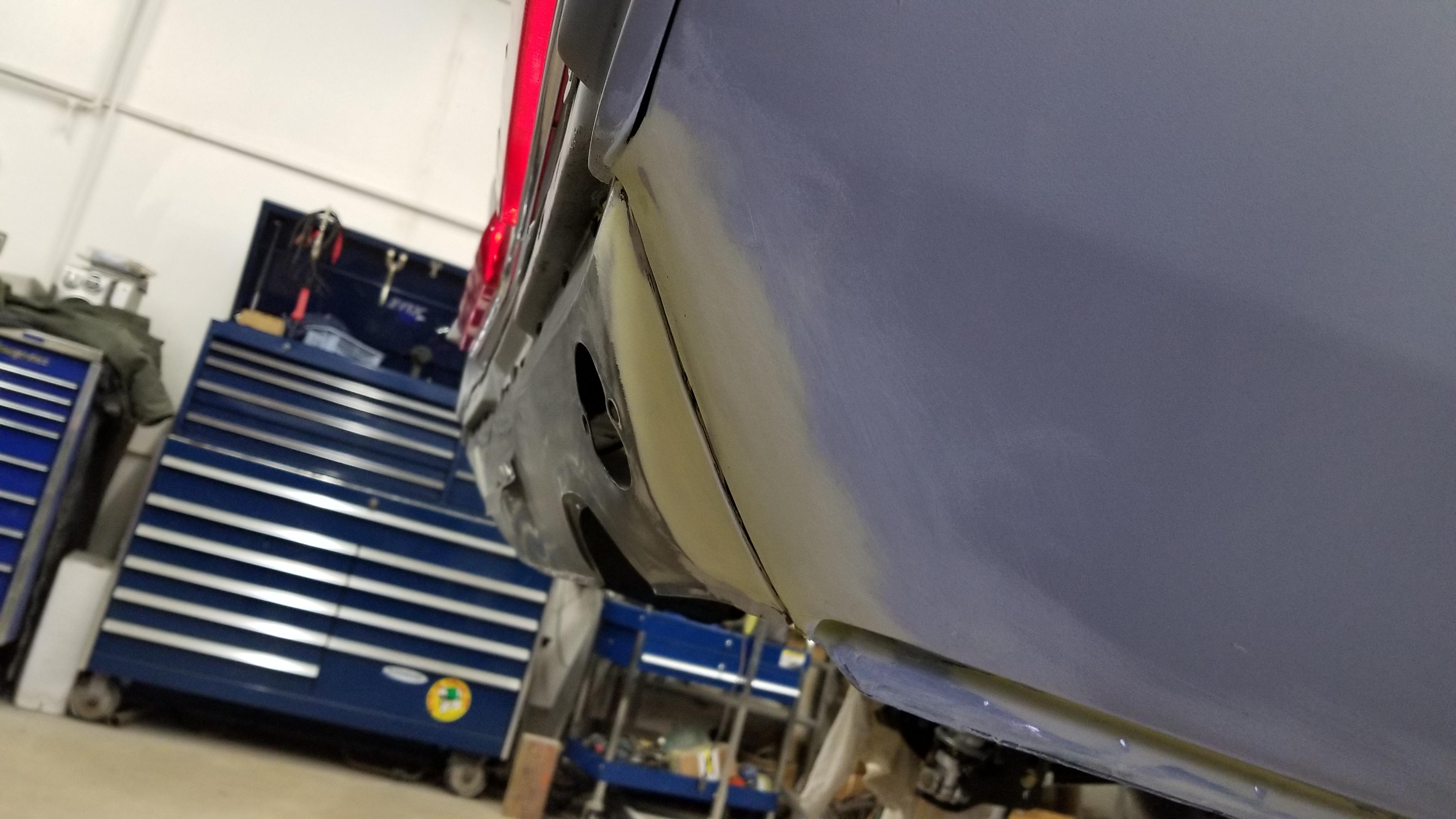 1967 Mustang Rear Valance gaps