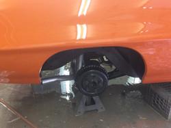 72 Pontiac GTO Orange